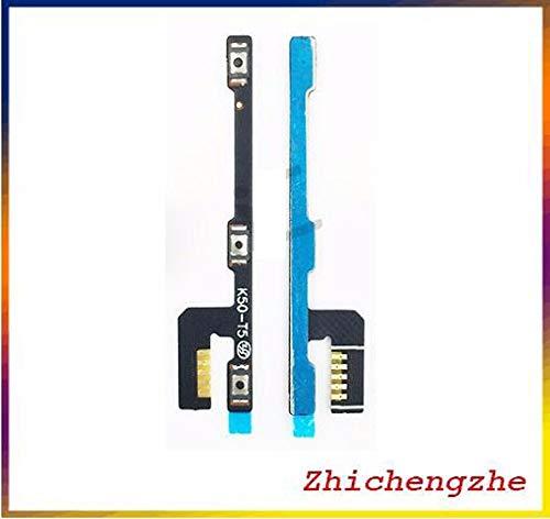 2 pcs/lot Volume Power On/Off Bouton Marche/Arrêt Câble Flex pour Lenovo A7000 K3Note K50-T5 téléphone