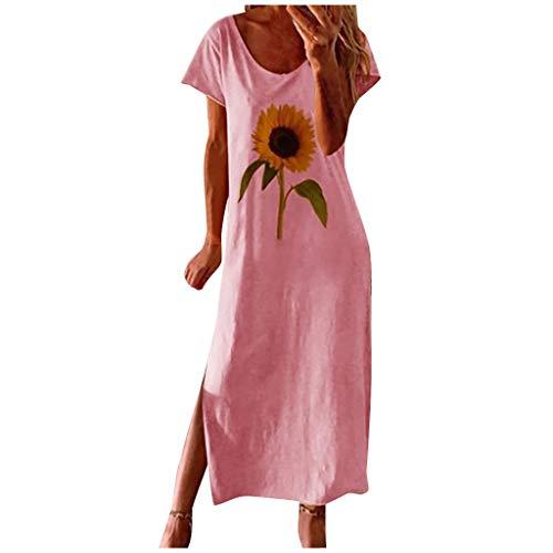Damen Kleider Kleiderschrank Umstandskleid Kleiderbügel Holz Kleidung Damen Maxikleid Kleiderschrank Weiss Mädchen Rockabilly Kleiderstange Wandmontage Sommerkleider Damen Mädchen Kleider(Rosa,S)