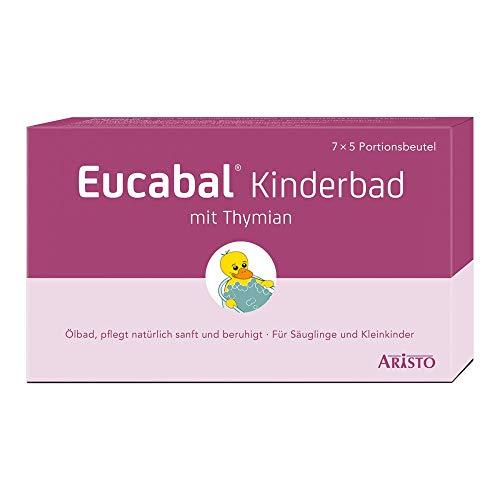 Eucabal Kinderbad mit Thymian, 7X5 ml