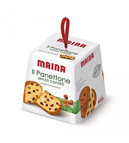 Maina - Mini panettone sin frutas confitadas 100gr.