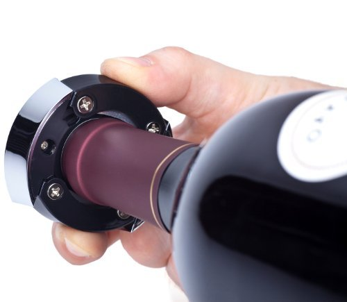Ozeri Nouveaux Electric Removable Free Foil Cutter Wine Opener, One Size, Black