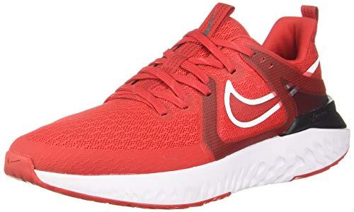 Nike Men's Legend React 2 Trail Running Shoes, Multicolour (University Red/White/Black 600), 8 UK