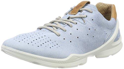ECCO Damen Biom Street Sneaker, Blau (Indigo 3 Blue Lagoon 2318), 38 EU