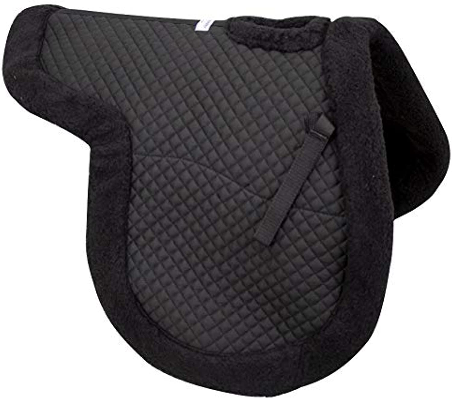 Paris Tack English Spine Relief Fleece Padded Saddle Pad