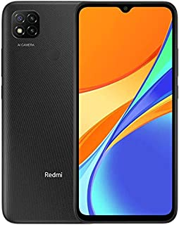 Redmi 9C Dual SIM, 32GB, 2G RAM, 4G LTE, Midnight Gray