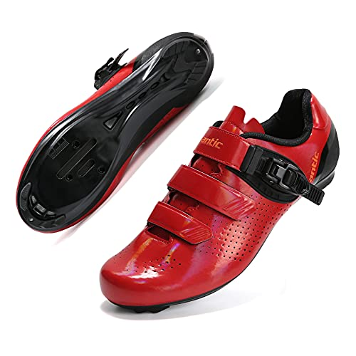 Santic Cycle Shoes Bike Shoes Suitable for Peleton & Look Delta Cycling Shoes