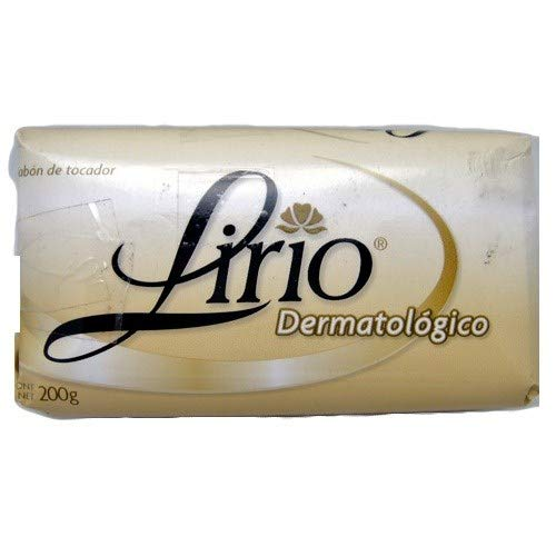 New 809019 Lirio Bath Soap 200G Dermatologico (50-Pack) Hand and Bar Soaps Wholesale Bulk Health and Beauty Hand and Bar Soaps Lingerie