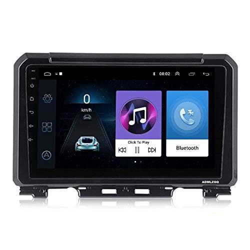 WY-CAR Android 8.1 Unidad Principal De Navegación GPS con Pantalla Táctil HD De 9 Pulgadas para Suzuki JIMNY 2019, FM/Bluetooth/Controles del Volante/Mirror Link/Cámara De Visión Trasera
