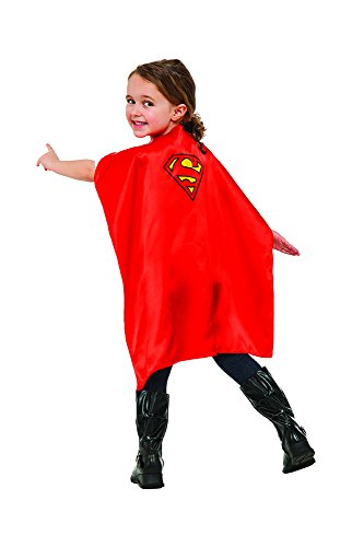Rubies - Capa de disfraz Superman para niños, Talla única infantil (Rubie
