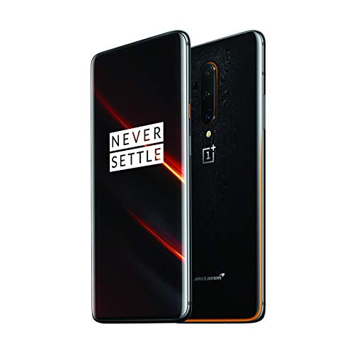 OnePlus 7T Pro McLaren Edition HD1910 Dual SIM 256GB 12GB RAM (GSM Only, No CDMA) Factory Unlocked CN with Google - No Warranty (Papaya Orange)