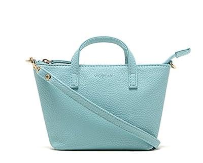 Voberry Fashion Lady Women Hobo Shoulder Bag Messenger Purse Satchel Tote Handbag (Blue)