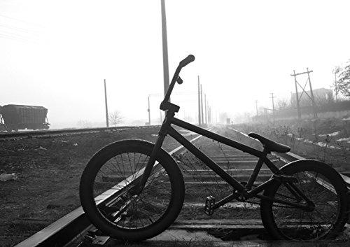 Poster BMX ON Rails B