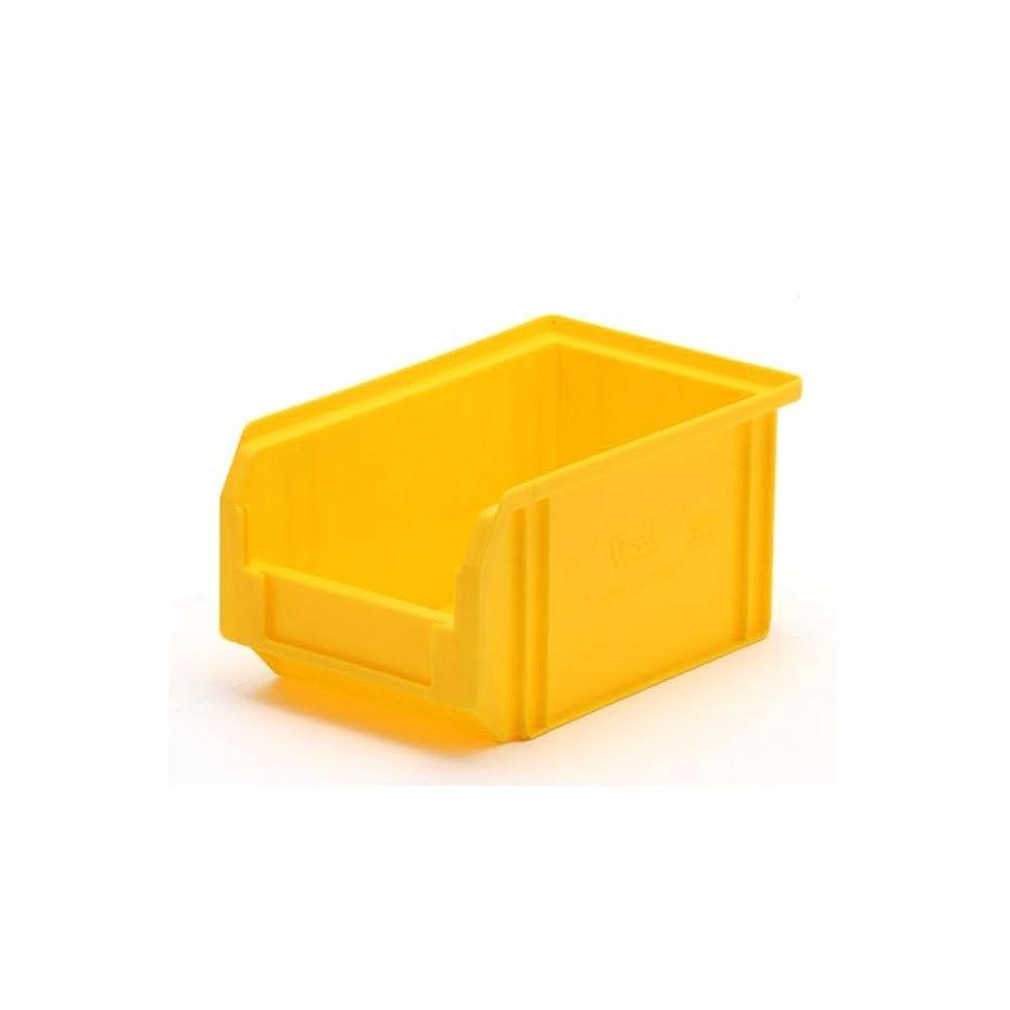 序文リングシンプルなfami プラスチックコンテナ [ イエロー/SS ] スタッキングボックス