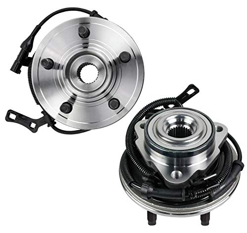 Bodeman - 2PC Front Wheel Hub & Bearing Assembly for 2006-2010 Ford Explorer Sport Trac Mercury Mountaineer 5 Lugs w/ABS