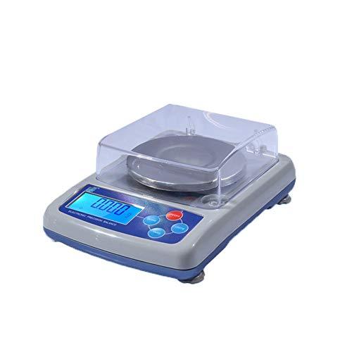 CHICTI Electrónica Balanzas de Cocina, Precisión Comida Escala de Hornear, Acero Inoxidable Material, Fácil de Limpiar Pequeño (Size : 500g/0.01g)