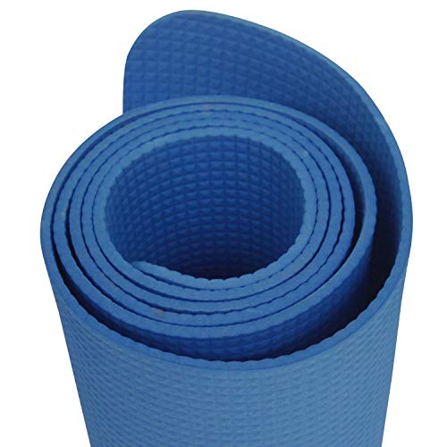 Onlymat Synthetic Yoga Mat (60x180cm, 4mm) (Dark Blue)