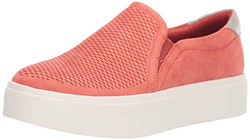 Dr. Scholl's Shoes Women's Kinney Sneaker, Passion Fruit Chopout Microfiber, 9 M US