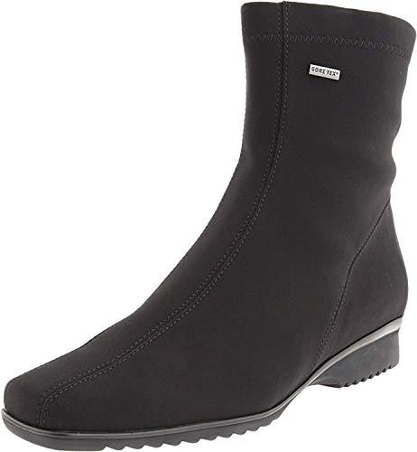 ara Women's Page Boot,Black Fabric,8.5 M US
