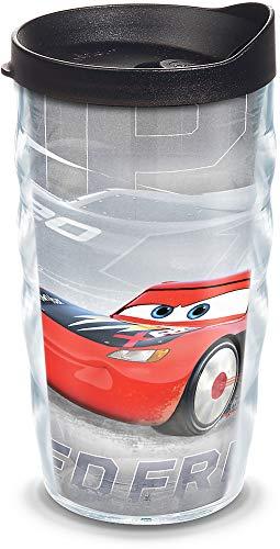 Tervis Disney Pixar – Copo isolado para carros, 283 g ondulado – Tritan, Speed Frenzy