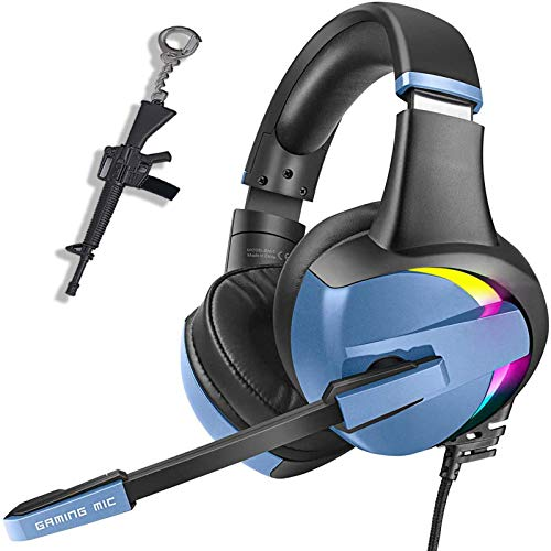 2 Pack PS4 Gaming Headset Pro RGB Gaming Headphone for Xbox one PC with Mic Stereo Surround, -  SVYHUOK