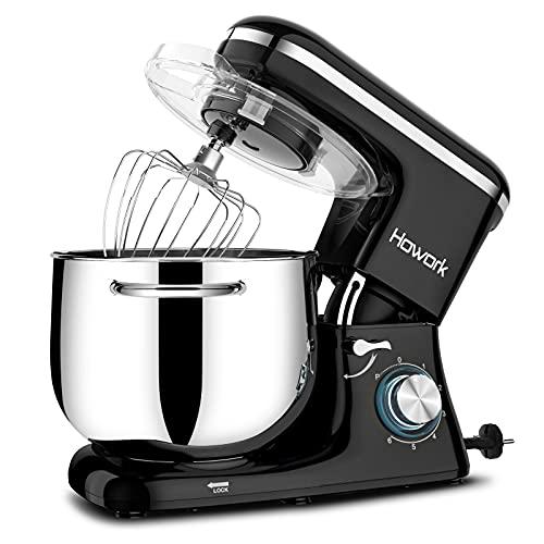 HOWORK Stand Mixer, 8.45 QT Bowl 660W Food Mixer, Multi...