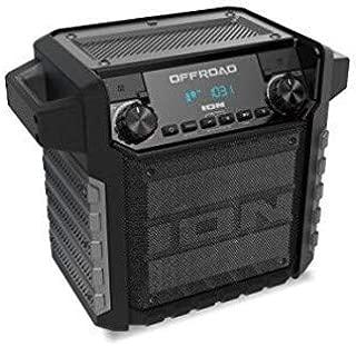 ION IPA67 Offroad IPX4 Portable Bluetooth 50 Watt PA AM/FM Radio WithMic Black/Yellow