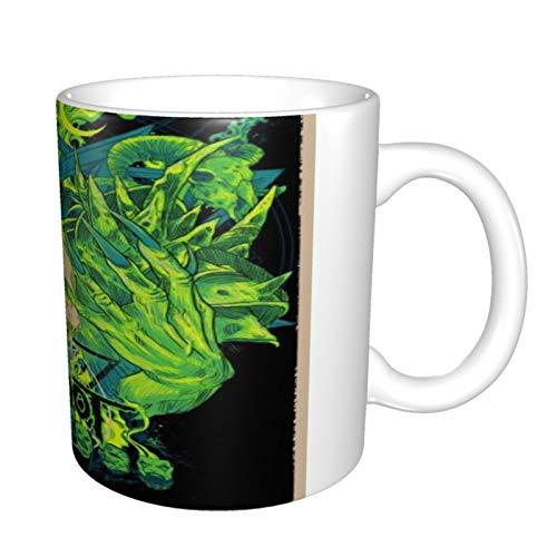 Slipknot - Taza de café de cerámica para té, taza mágica, regalo de 11 onzas