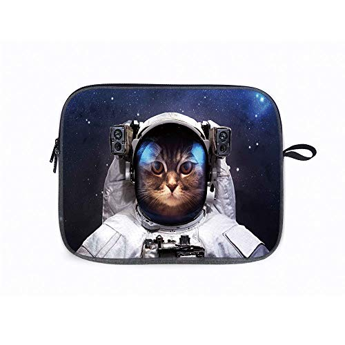 Space Cat Milkyway Cat 14 Inch Laptop Sleeve Compatible with 14' Notebook / 14' Lenovo ThinkPad E480