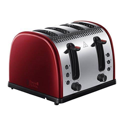 Russell Hobbs 21301 Legacy 4-Slice Toaster - Metallic Red
