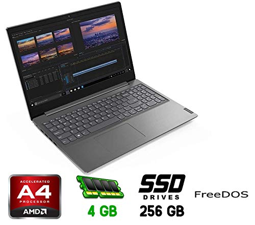 LENOVO Notebook Essential V145-15AST Monitor 15.6' HD AMD A4-9125 Ram 4GB SSD 256GB 2xUSB 3.0 Free Dos