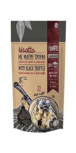 Risotto with Black Truffle Mushroom by Dirfis | Gourmet Convenient Ready-to-cook | 200gram