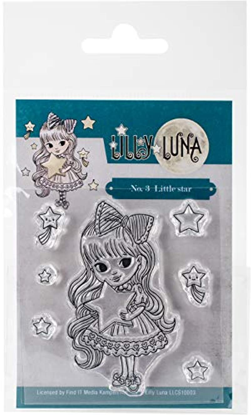 Find It Trading Little Star Lilly Luna Clear Stamps