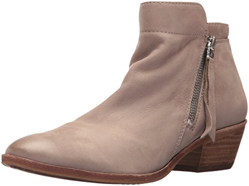 Sam Edelman Women's Packer Ankle Boot, Putty Leather, 10.5 Medium US