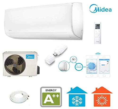 Klimaanlage Midea Mission 27 SET Split-Klimagerät Wifi / App Steuerung A++
