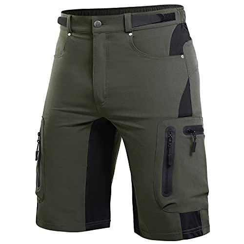 Cycorld Cargo Hiking Shorts for Men Lightweight...