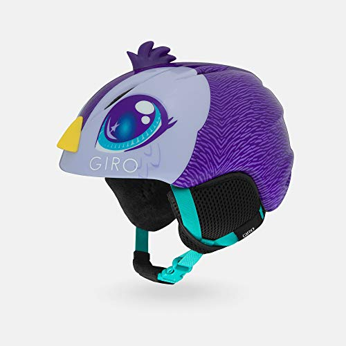 Giro Launch Plus Youth Snow Helmet - Purple Penguin - Size S