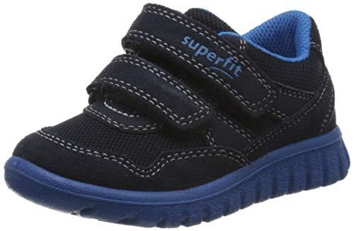 Superfit Baby Jungen SPORT7 Mini Sneaker, Blau (Blau/Blau 80), 25 EU
