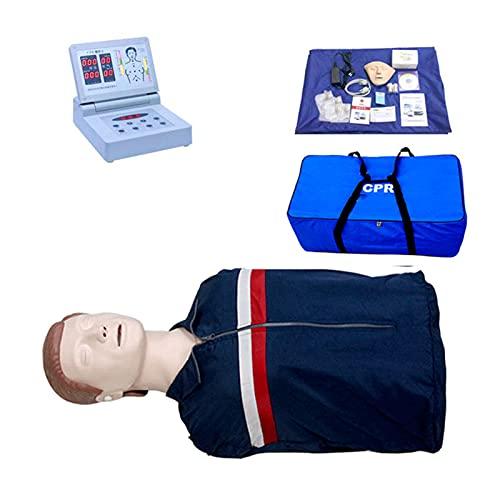 GXGX CPR - Monitor CCR para entrenamiento de primeros auxilios con alerta de voz para investigación educativa