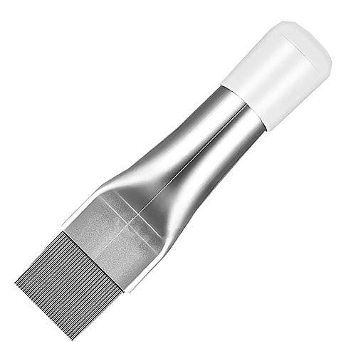 エアコン用 掃除用 フィンコーム コンデンサー ステンレス製 ラジエーター フィンストレートナー クリーナー 修復 清掃 ツール メタル TORENAFI