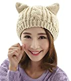 a cozy cat hat is a great holiday gift for cat lovers.