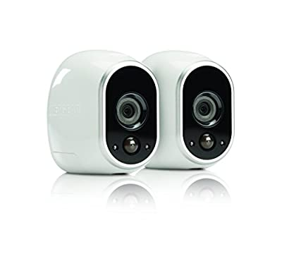 Netgear Arlo Smart Security - 2 HD Camera Security System,Wire-Free, Indoor/Outdoor with Night Vision (VMS3230) (VMS3230 (Renewed) from Netgear