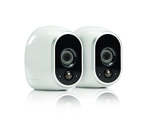 Netgear Arlo Smart Security – 2 HD Camera Security System,Wire-Free, Indoor/Outdoor with Night Vision