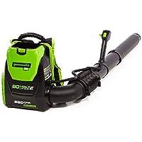 Greenworks 80V 145MPH 580CFM Cordless Backpack Leaf Blower