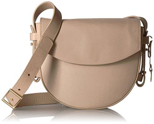 Skagen Damen Umhänge-Handtasche, beige, Einheitsgröße