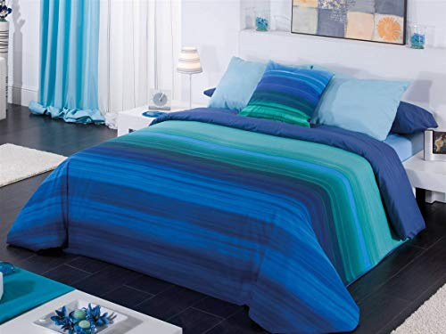 CAÑETE - Funda nórdica Jamaica Cama 90 - Azul