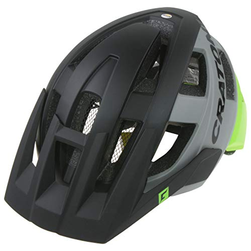 Cratoni AllSet MTB Helm schwarz/grün Kopfumfang M/L | 58-61cm 2020 Fahrradhelm