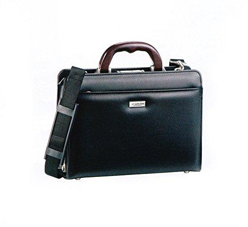 J.C HAMILTON(ハミルトン)天然木手、ビジネスバッグ、ショルダー、22309