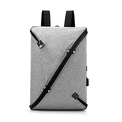 Erfhj Anti-diefstal mannen USB met oplader poort rugzak laptop notebook reistas
