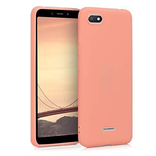 Preisvergleich Produktbild kwmobile Hülle kompatibel mit Xiaomi Redmi 6A - Handyhülle - Handy Case in Koralle matt
