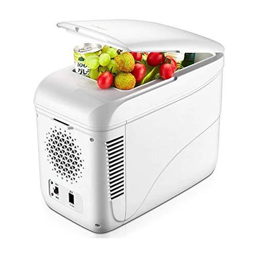 XTZJ Frigorífico para refrigerador portátil Frigorífico, refrigerador de 12V refrigerador, 9 litros refrigerador compacto, para uso de automóviles y hogar, 0  -50 , DC 12 / 24V, AC 110 / 240V